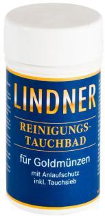 LINDNER 8091 GOLD Münzbad Tauchbad Reinigungsbad Pflegebad 375 ml Reinigung für Münzen & Schmuck - Vorschau 1