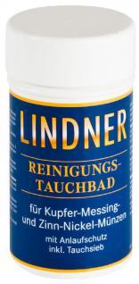 LINDNER 8011 KUPFER - NICKEL Münzbad Tauchbad Reinigungsbad Pflegebad 375 ml Reinigung für Münzen & Schmuck - Vorschau 1