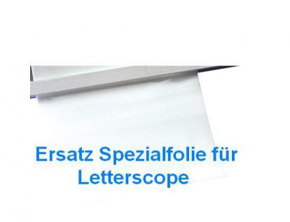 LINDNER 9109 Ersatz Spezialfolie für Letterscope Wasserzeichen Finder Sucher Prüfer 9110