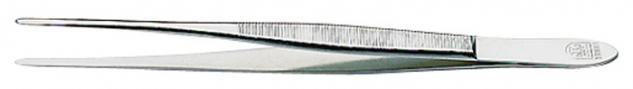 1 x LINDNER 2011 Pinzetten Briefmarkenpinzetten mit fein geschliffenen geraden Spitzen - 150 mm lang im Plastiketui