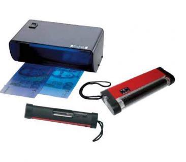 LINDNER 7080 UV Prüfer Prüfgerät Lampe 4W / 365 nm Briefmarken Geldscheine Banknoten Papiergeld ohne Batterien - Vorschau 2