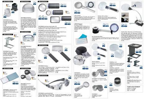 LINDNER 7082o Phosphorlampe Phosphor Lampe Prüfgerät ohne Quarzglasfilter Lampe 4W / 254 nm - Vorschau 3