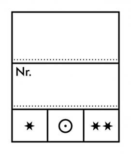1000 x LINDNER 802024 Preis-Etiketten Preisetiketten klein 23 x 27 mm für Briefmarken und Banknoten