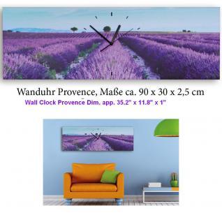 klassische 3 teilige tryptichon leinwandbilder mit wanduhr aufh nge fertig kunstdruck der. Black Bedroom Furniture Sets. Home Design Ideas