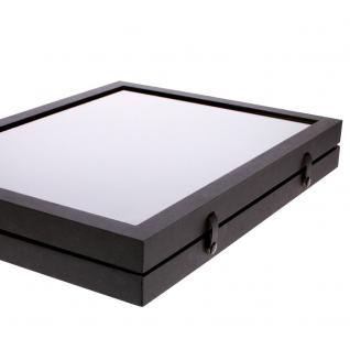 SAFE 5677 Black Edition Sammelvitrinen Vitrinen Setzkasten mit 45 Fächern bis 49 mm Höhe Ideal für Ü Eier Figuren Spielzeug - Vorschau 2