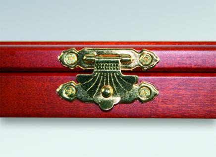 SAFE 5848 Echt Holz Münzvitrinen Vitrinen 27 x 5 DM Deutsche Mark Gedenkmünzen 1953 - 1986 in Münzkapseln 29, 5 mm - Vorschau 2