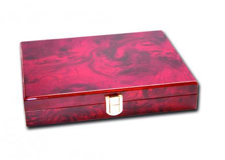 SAFE 5783 Premium WURZELHOLZ Münzkassetten 3 Tableaus 6350 - 45 Fächer 50 x 50 mm Für Münzrähmchen - Quadrum & Carree & Octo Münzkapseln - Vorschau 2