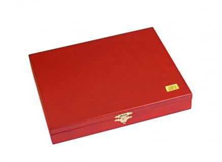 SAFE 5896 Elegance Holz Münzkassetten mit 3 Tableaus 6332SP Für 90 x 20 Euro Münzen Gedenkmünzen Deutschland - Vorschau 4