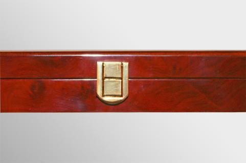 SAFE 5783 Premium WURZELHOLZ Münzkassetten 3 Tableaus 6350 - 45 Fächer 50 x 50 mm Für Münzrähmchen - Quadrum & Carree & Octo Münzkapseln - Vorschau 3