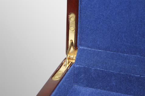 SAFE 5783 Premium WURZELHOLZ Münzkassetten 3 Tableaus 6350 - 45 Fächer 50 x 50 mm Für Münzrähmchen - Quadrum & Carree & Octo Münzkapseln - Vorschau 4