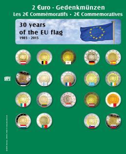 SAFE 7341-15 Premium Münzblätter Ergänzungsblätter Münzhüllen 7393 mit Vordruckblättern 2 Euro Münzen Gedenkmünzen 2015