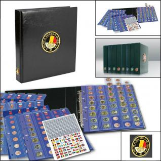 SAFE 7354 PREMIUM MÜNZALBUM Belgien EURO für 30 x komplette Kursmünzensätze KMS 1 Cent - 2 Euro
