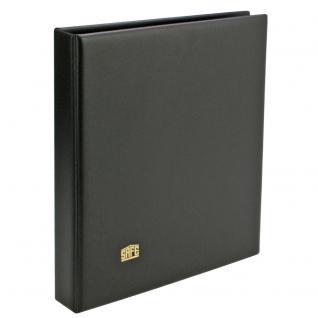 SAFE 520 Album FDC Ringbinder Schwarz mit 10 Blättern 522 - 2er Teilung Für Briefe Postkarten Ansichtskarten - Vorschau 2