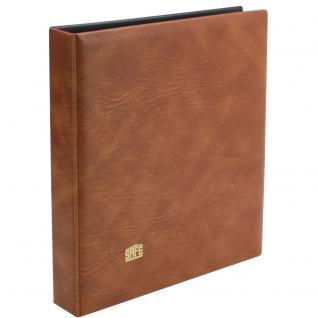 SAFE 525 DOPPEL - ETB Album Ringbinder Braunes - mit 10 Blättern für 20 ETB 'S - Erweiterbar bis zu 70 Blätter - Vorschau 2