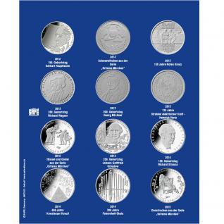 1 x SAFE 7311-6 TOPset Erganzungsblatt Münzblätter + Vordruckblatt Deutsche 10 Euromünzen 2012 - 2013