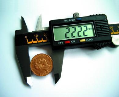 SAFE 9872 Digitale Schieblehre LCD Anzeige Messbereich 0 - 150 mm Messeinheit 1/100 mm