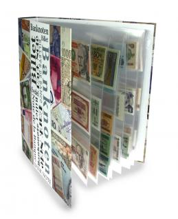 """SAFE 7921-0 Banknotenalbum """" Maxi """" Ringbinder Album Sammelalbum (leer) zum selbst befüllen für Banknoten - Papiergeld Geldscheine - Vorschau 5"""