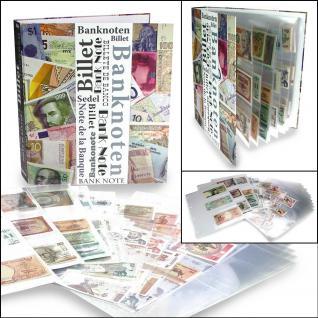 """SAFE 7921-0 Banknotenalbum """" Maxi """" Ringbinder Album Sammelalbum (leer) zum selbst befüllen für Banknoten - Papiergeld Geldscheine - Vorschau 2"""