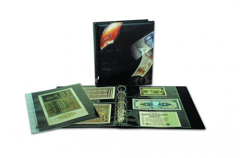 10 x SAFE 1277 ARTline Ergänzungsblätter Banknotenhüllen Hüllen 2er Teilung 180 x 120 mm - Vorschau 2