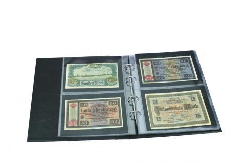10 x SAFE 1276 ARTline Ergänzungsblätter Banknotenhüllen Hüllen 1er Teilung 180 x 255 mm - Vorschau 3