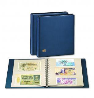 5 x SAFE 7352 Banknoten Hüllen Ergänzungsblätter 2er Teilung 250x 145 mm - Vorschau 2