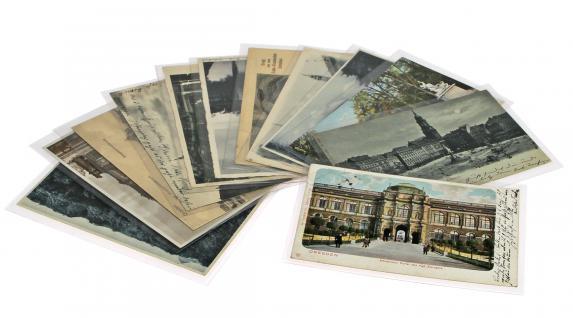 100 x SAFE 9250 Postkartenhüllen Schutzhüllen Hüllen offene Schmalseite 149 x 103 mm Ansichtskarten Postkarten