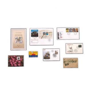 100 x SAFE 9284 Klarsichthüllen Schutzhüllen Hüllen offene Schmalseite 230 x 120 mm Für DIN C6 Briefe - Vorschau 2