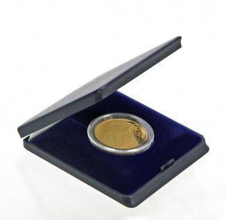SAFE 7935 Blaue Hartschalen Etui Münzetuis Deutsche 2 Euro Münzen Gedenkmünzen in Münzkapseln 26 - Vorschau 3