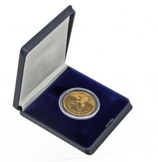 SAFE 7935 Blaue Hartschalen Etui Münzetuis Deutsche 2 Euro Münzen Gedenkmünzen in Münzkapseln 26