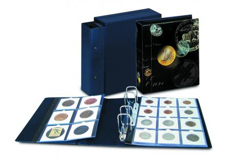 SAFE 7890 Coin-Compact Sammelalbum Münzalbum Ringbinder für Münzrähmchen (leer) zum selbst befüllen