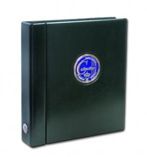 SAFE 481 Premium Collection Compact A4 Classic Münzalbum Ringbinder Für Münzen & Carree - Octo & Quadrum Münzkapseln & münzrähmchen