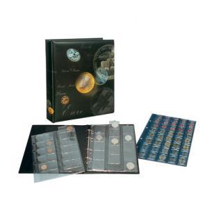 SAFE 7384 ARTline EUROMÜNZALBUM Münzalbum 20 x komplette EURO Kursmünzensätze 1 Cent - 2 Euro Münzen