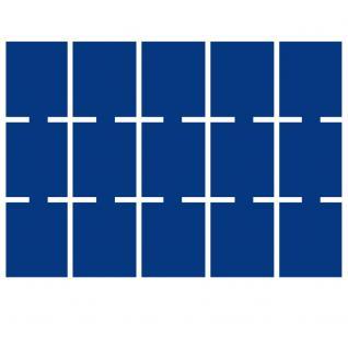 1 x SAFE 5846-1 Schwarze Schubladen mit blauen Einlagen 15 eckige Fächer 50 mm für die Kassetten 6590 & 6591 Ideal für Münzrähmchen Standard & bis Münzkapseln 44 & Octo - Carree - Quadrum Münzkapseln