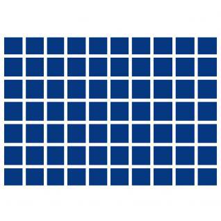 1 x SAFE 5945-1 Schwarze Schubladen mit blauen Tableaus 70 eckige Fächer 26 mm für die Kassetten 6590 & 6591 Ideal für 2 Euro Gedenkmünzen