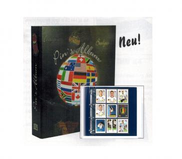 SAFE 7919-2 Pins & Sticker Sammelalbum + 20 Blättern für 360 Sportkarten Bilder Ideal für Panini Bilder Russland Fußball WM 2018