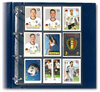 SAFE 7919-2 Pins & Sticker Sammelalbum + 20 Blättern für 360 Sportkarten Bilder Ideal für Panini Bilder Russland Fußball WM 2018 - Vorschau 2