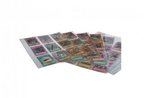 100 x SAFE 5484 Standard Hüllen Spezialblätter A4 Für Tradingcards Sammelkarten Sportkarten Sticker