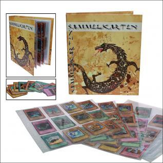 5 x SAFE 5484 Standard Hüllen Spezialblätter A4 Für Tradingcards Sammelkarten Sportkarten Sticker - Vorschau 2