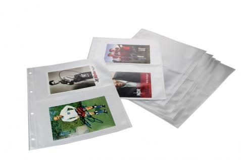 SAFE 7927-0 Autogrammkartenmalbum Sammelalbum Ringbinder leer Autographen Autogramme zum selbst befüllen - Vorschau 5