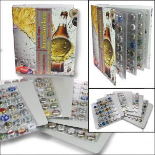 SAFE 7928 Kronkorkenalbum Sammelalbum A4 mit 4 transparenten Blättern für 168 Kronkorken