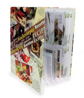SAFE 7930 Kochrezepte Album Sammelalbum Ringbinder Rezepte mit 10 Rezeptkarton Blättern 15 Folienblättern für 150 Rezepte - Vorschau 3