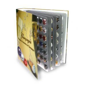 SAFE 7880 Champagneralbum Sammelalbum A4 mit 4 transparenten Blättern + Zwischenblättern für 168 Champagnerdeckel Kapseln - Vorschau 4
