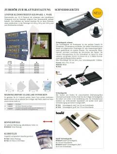 HAWID HA 4034 / HA4034 Schaufix 22 Streifen Beige Verpackung schwarze Klemmtaschen 210 x 34 mm - Vorschau 2