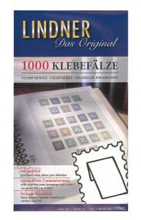 1 x 1000 LINDNER 7040 Klebefälze Klebefalze vorgefalzt säurefrei gummiert