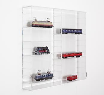 SAFE 5210 ACRYLGLAS Sammel Vitrinen Universal XL Modul A Maße 50 x 50 x 10 cm + 2 x 4 Zwischenböden - Für Porzellan Figuren Sammeltassen Gläser Miniaturen Aniquitäten - Vorschau 4