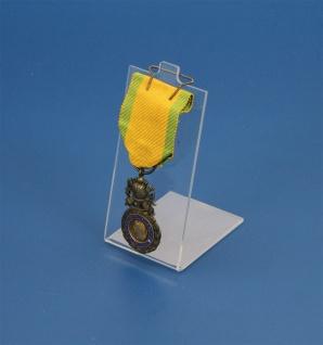 SAFE 8110 Acryl Glas Ständer für Orden mit Nadel - Karneval - Schützenverein - Militaria