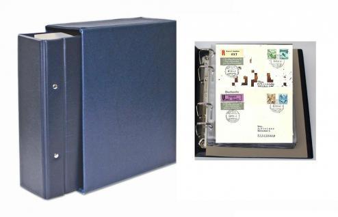 SAFE 7894 Standard Compact Briefealbum Album Ringbinder mit 20 Blättern 7874 erweiterbar bis 220 FDC Briefe