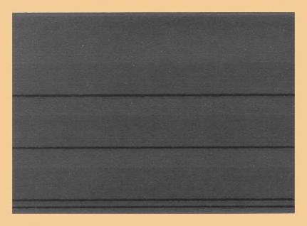 100 x C6 KOBRA VF3U Einsteckkarten Steckkarten 3 Streifen + Folienschutzblatt unten angeklebt - Vorschau 1