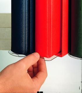 SAFE 842 Kassettengleiter Maxi Postkartenalbum 415 x 65 mm zum einfachen entnehmen der Ringbinder aus den Kassetten