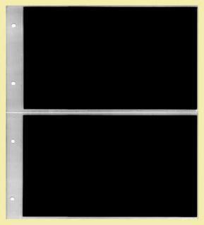 KOBRA G12P Grün Universal Ringalbum Ringbinder Album im Großformat mit 20 Blättern G12E für 80 Ganzsachen Postkarten Briefe Banknoten - Vorschau 3